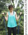 운동, 여자, 여성 22633679