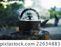 戶外 室外 燒水用的水壺 22634883