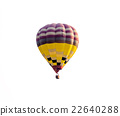 hot air balloon isolated on white background 22640288