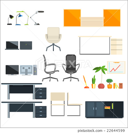 Office Furniture And Objects Collection 22644599