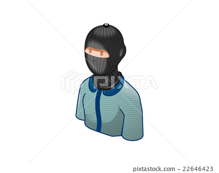A man with suspicious mask 22646423