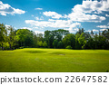 Golf course landscape 22647582