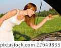 vehicle, women, breakdown 22649833