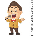 Cute illustrator in a comical and talent show hosting on a television program | Iwata Masayoshi 22650748