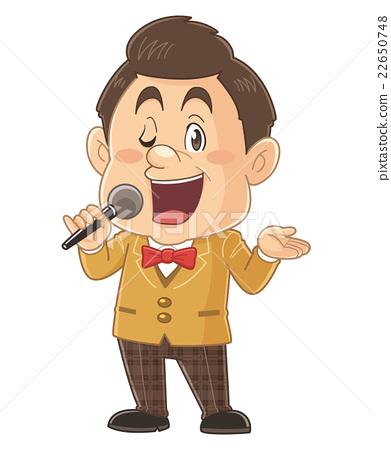 可愛的插畫家在電視節目主持的滑稽和才藝表演|岩田正義 22650748