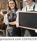 barista, blackboard, coffee 22656258