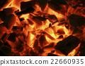 불타는 숯불 22660935