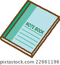 notebook, college, stationery 22661196