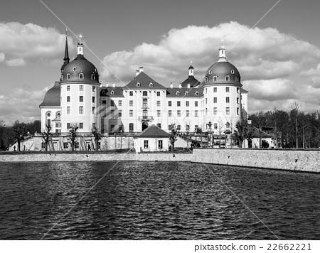 Baroque castle of Moritzburg in Germany 22662221