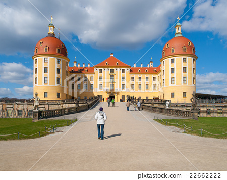 Baroque castle of Moritzburg in Germany 22662222