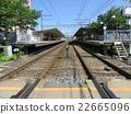railroad, railway, railway track 22665096