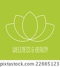 Green lotus icon 22665123