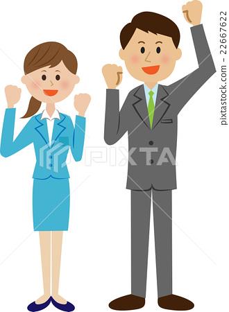 businessperson, employee, office worker 22667622