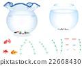 japanese style, fishbowl, goldfish 22668430