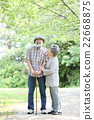 新綠色資深oshidori夫婦 22668875