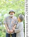 新綠色資深oshidori夫婦 22668970