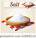 Salt. Detailed Vector Icon 22669214