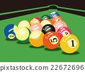 台球 桌球 水池 22672696