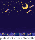 night-sky, star, falling star 22679087