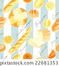 ขนมปัง,พื้นหลัง,ครัวซองค์ 22681353