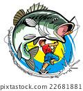 ปลากะพงปากกว้าง,ตกปลา,ผู้ชาย 22681881