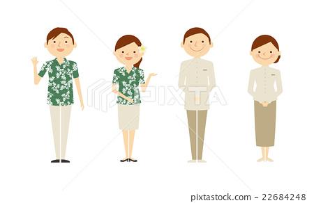 夏威夷衫 夏威夷衬衫 制服 22684248