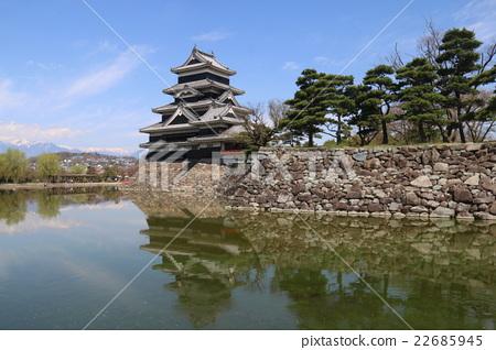 松本城 22685945