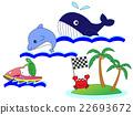 矢量 仙境 海 22693672