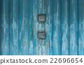 Grunge metal door texture background. 22696654