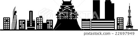Nagoya silhouette 2 22697949