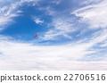 Red boomerang in flight 22706516
