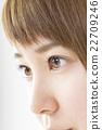 眼睛 目光 夫人 22709246