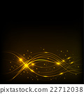 Background with Overlaying wavy lines 22712038