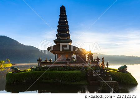 Pura Ulun Danu Bratan at sunrise,  Bali, Indonesia 22712375