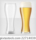 Two beer glasses 22714039