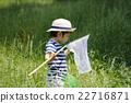 เด็กผู้ชาย,เด็ก,จับแมลง 22716871