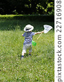 เด็กผู้ชาย,เด็ก,จับแมลง 22716908