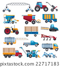 Agricultural Machines Icons Set 22717183