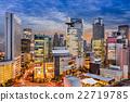 Osaka Cityscape 22719785