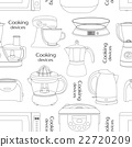 Cooking devices pattern 22720209