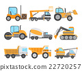 Machines for Construction Work Set 22720257