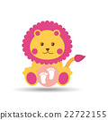baby shower icon design  22722155