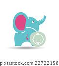 baby shower icon design  22722158