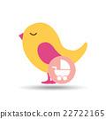 baby shower icon design  22722165