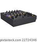 Black dj mixer 22724346