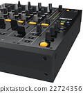 Dj mixer control table panel, close view  22724356