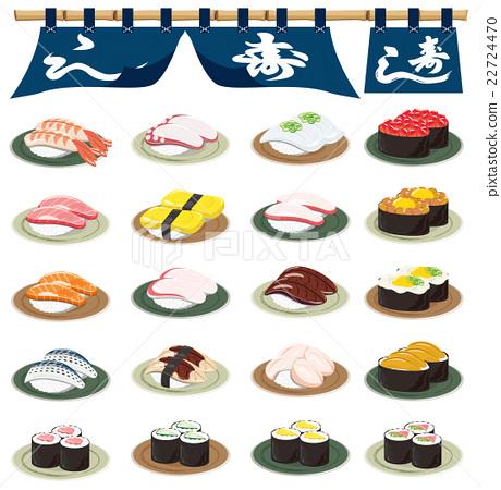 Sushi icon 22724470
