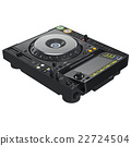 Dj mixer turntable, digital display 22724504