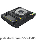 Mixer dj turntable, digital display 22724505