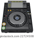 Digital dj music turntable mixer 22724508